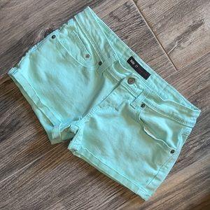 Levi Mint Shorts
